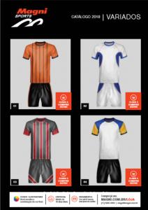 Uniformes Esportivos Variados - Camisetas, Bermudas e Calções