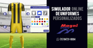 Simulador de Uniformes Esportivos Personalizados - Fardamentos Esportivos