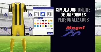 Simulador de Uniformes Esportivos Personalizados