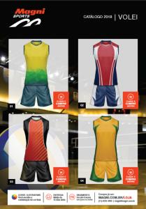 Uniformes de Voleibol - Camisetas e Shorts de Vôlei